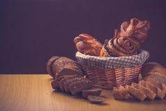 Various breads v2 Stock Photos