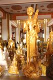 Various Buddha. Is enshrined in the temple Stock Image