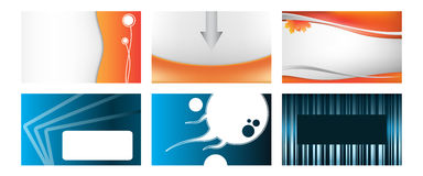 Various business card Royalty Free Stock Photography
