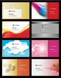 Various business card Stock Photography