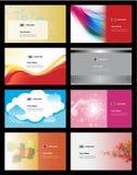 Various business card Stock Photography