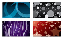 Various business card set Royalty Free Stock Image