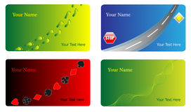 Various business cards Stock Photography