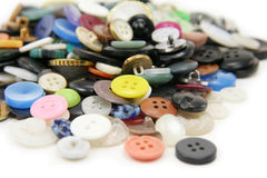 Various Buttons Stock Photos
