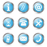 Various Buttons Royalty Free Stock Photo