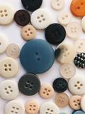 Various buttons. Lots of buttons on white background Royalty Free Stock Photo