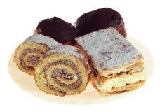 Various cakes Stock Photo