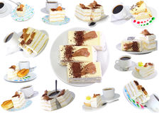 Various cakes Royalty Free Stock Photography