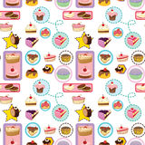 Various cakes Royalty Free Stock Photo