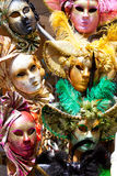 Various carnival masks Royalty Free Stock Photography