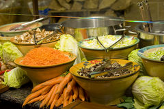 Various catering vegetables Royalty Free Stock Image