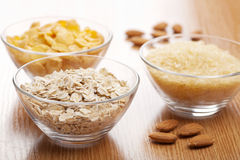 Various cereals Royalty Free Stock Image