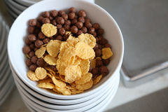 Various cereals for breakfast Royalty Free Stock Photo