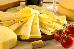 Various cheese Royalty Free Stock Images