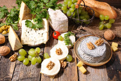 Various cheese Royalty Free Stock Image