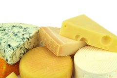 Various cheeses Royalty Free Stock Photography