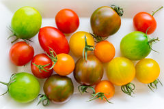 Various Cherry Tomatoes Stock Images