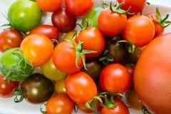 Various Cherry Tomatoes Stock Photo