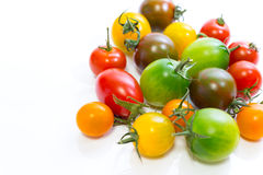 Various Cherry Tomatoes Stock Photography