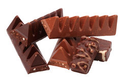Various chocolate Royalty Free Stock Images