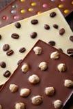 Various chocolate bar Stock Photo