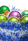 Various Christmas balls Royalty Free Stock Photos