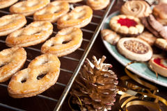 Various christmas  cookies Royalty Free Stock Photos