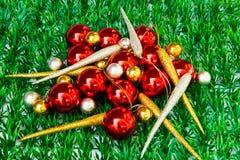 Various christmas decoration Stock Image
