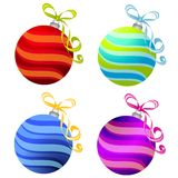 Various Christmas Ornaments Stock Image