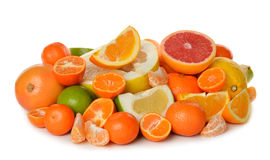 Various citrus Royalty Free Stock Image