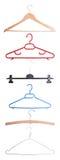 Various coat-hangers Stock Image