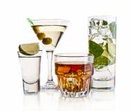 Various cocktails Stock Photos