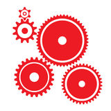 Various cogwheels Royalty Free Stock Image