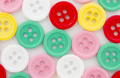 Various color buttons Royalty Free Stock Images