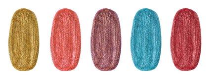 Free Various Color Glitter Nail Polish Stock Photo - 143341720