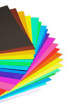 Various color paper royalty free stock images