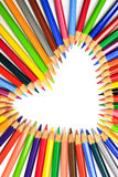 Various color pencils Stock Images