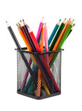 Various color pencils Royalty Free Stock Photo