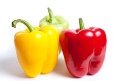 Various colored peppers Stock Photography