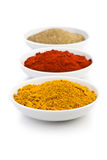 Various colored spices Stock Photo
