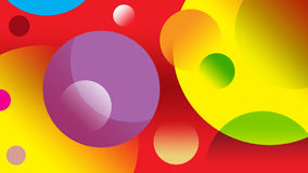 Various colorful circle Stock Photography
