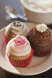 Various colorful cupcakes Royalty Free Stock Photography