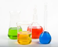 Free Various Colorful Flasks Royalty Free Stock Photography - 5151387