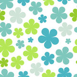 Various colorful flowers seamless pattern Royalty Free Stock Photography