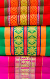 Various colorful pillow Royalty Free Stock Images