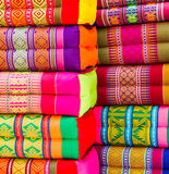 Various colorful pillow Royalty Free Stock Image