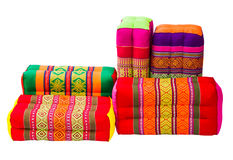 Various colorful pillow Stock Photography