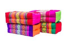 Various colorful pillow Royalty Free Stock Photos