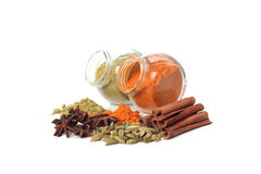 Various colorful spice Stock Photo
