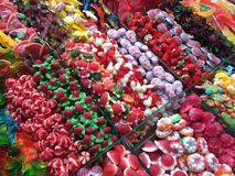 Various colorful sweets Stock Photo